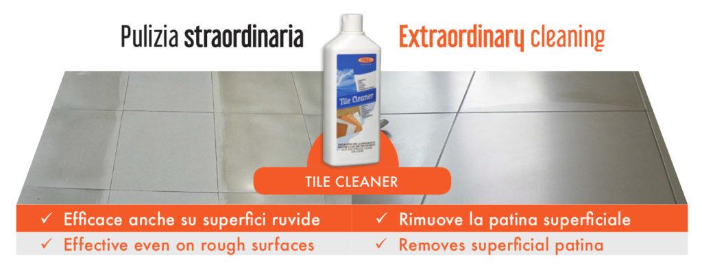 pulire il gres porcellanato Tile Cleaner